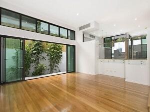 Floor Sanding and Polishing, Bardon, Blackbutt Flooring, Semigloss 1