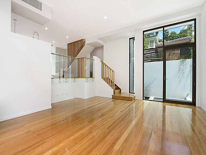 Floor Sanding and Polishing, Bardon, Blackbutt Flooring, Semigloss 3
