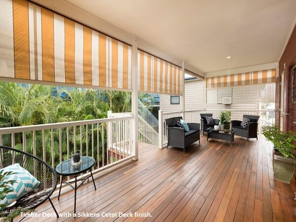 Timber deck, Morningside, Brisbane