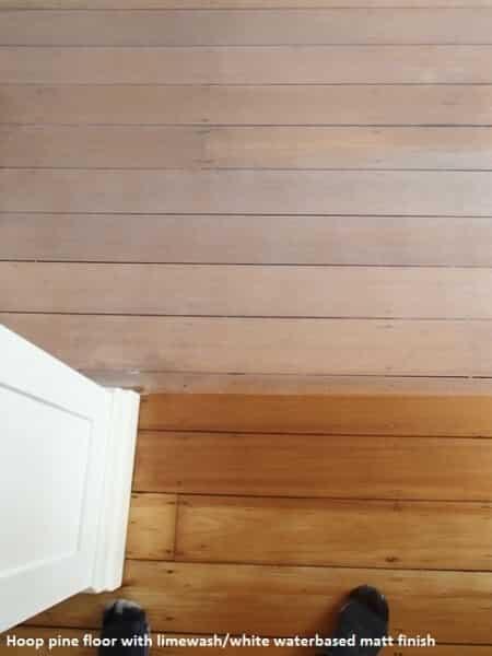 Hoop Fine floor with limewash finish