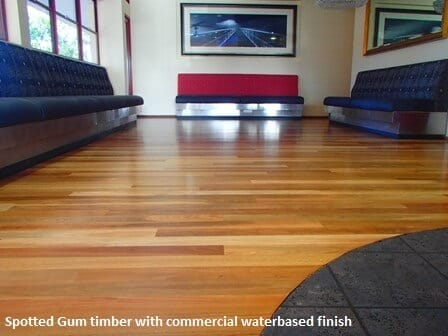 Spotted Gum timber floor