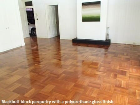 Floor Sanding and Polishing block parquetry