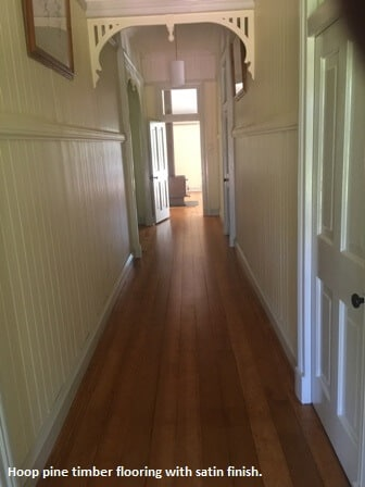 Timber flooring in Pullenvale