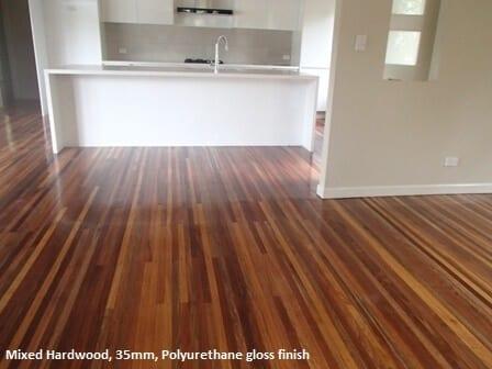 timber mixed hardwood