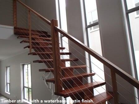 Timber stairs, Corinda, Brisbane