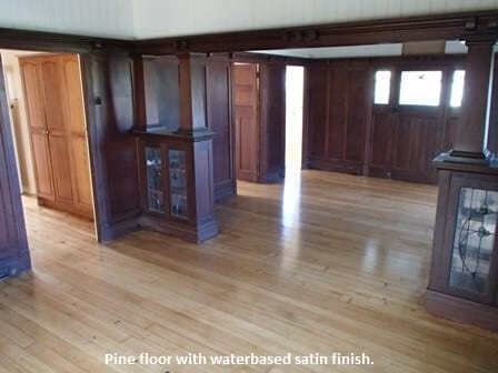 Vintage home in Ashgrove with a timber Pine floor