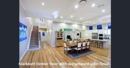 Blackbutt timber flooring in Ascot