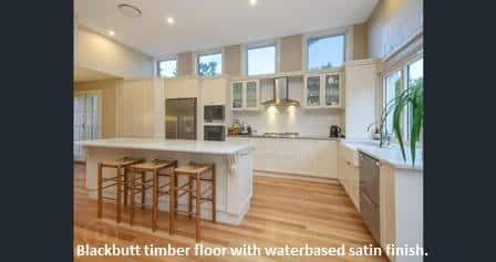 Blackbutt Timber Flooring In Ascot