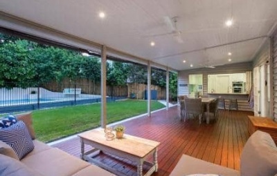 Hardwood deck with Sikkens Cetol, Ashgrove