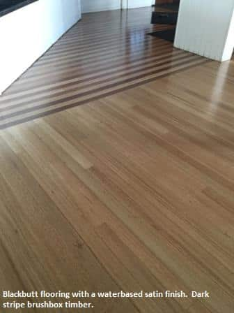 Blackbutt and brushbox timber flooring