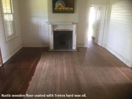 Vintage Timber floor