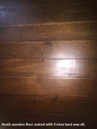 Rustic Wooden Floor - Crows Ash