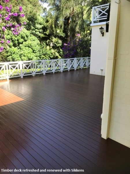 Timber deck, Brisbane