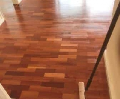 Parquetry Floor after