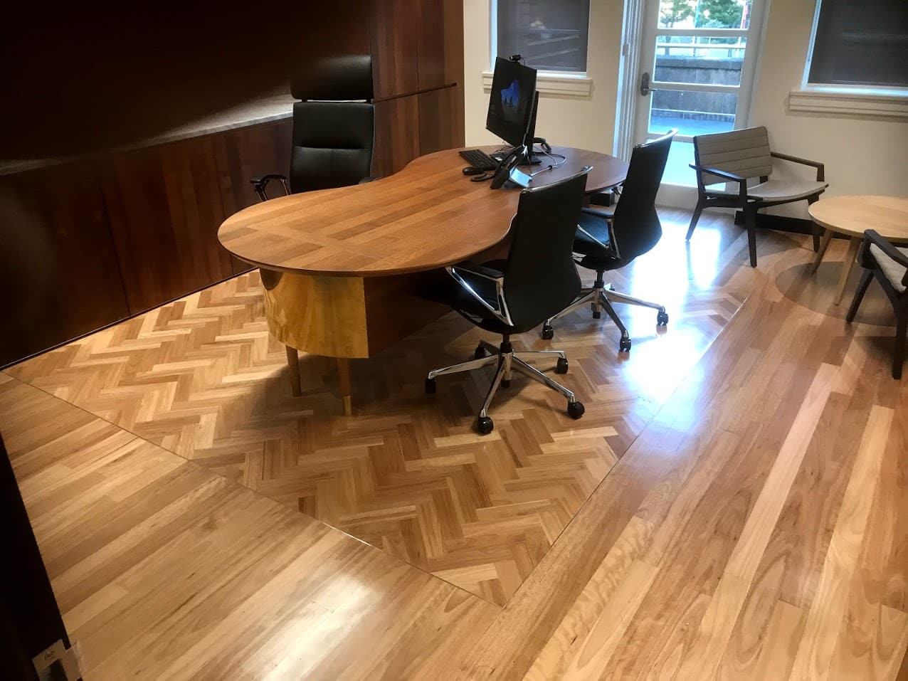 Parquetry floor by Brisbanes Finest Floors