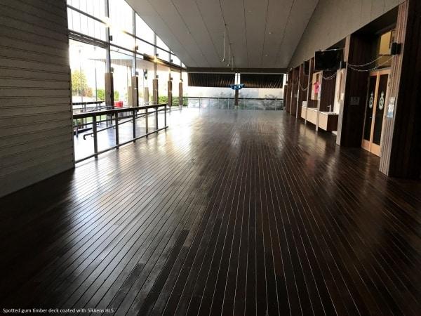 Brisbanes Finest Floors floor sanding deck