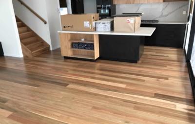 Hardwood timber floor in Brisbane