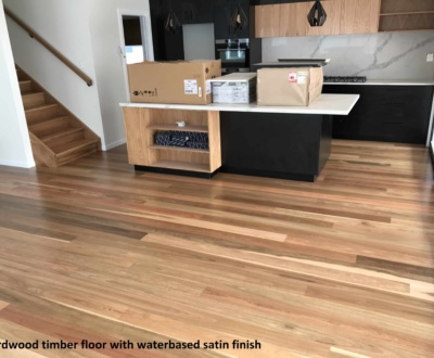 Hardwood timber floor in Brisbane