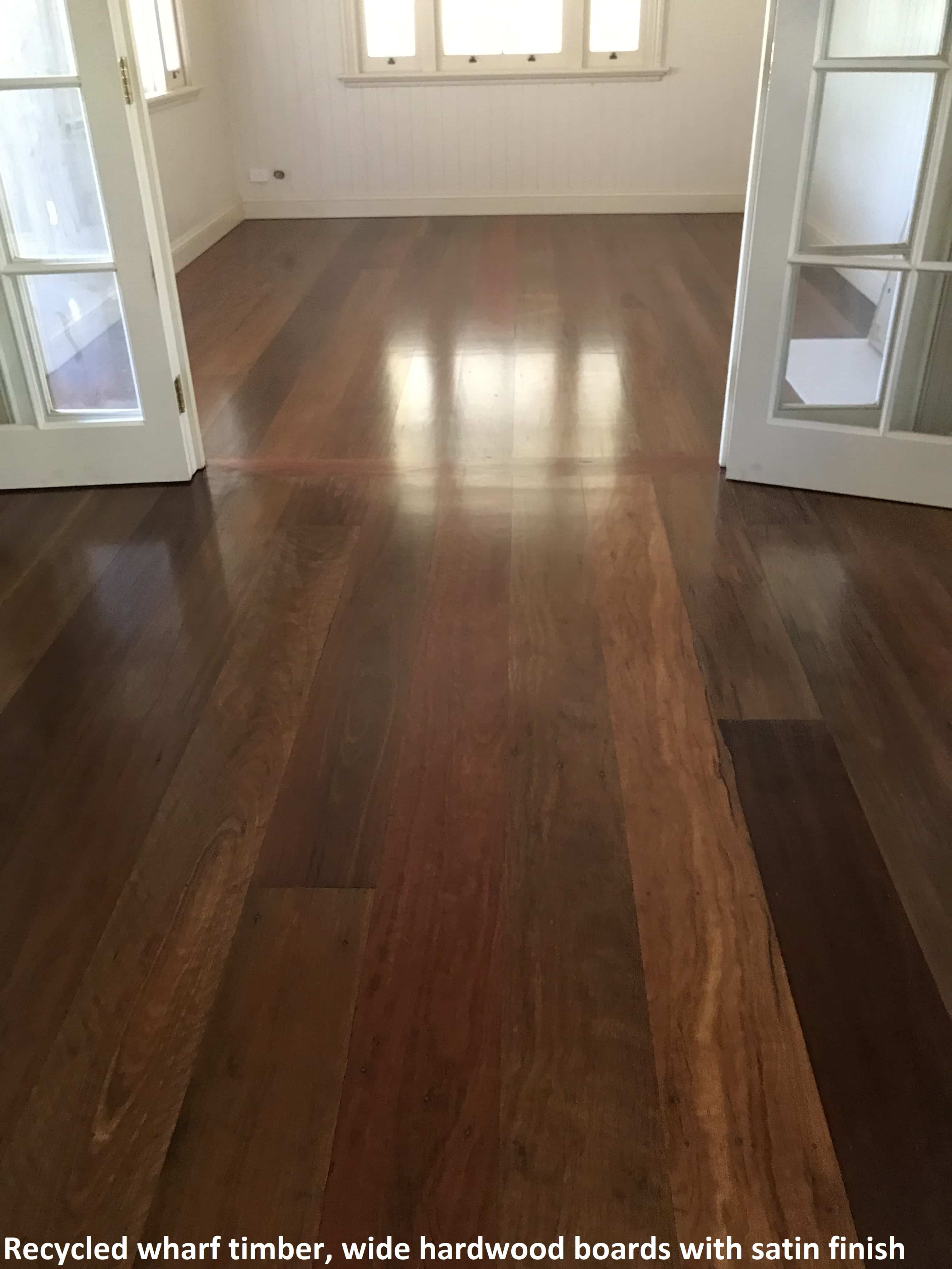 Recycled hardwood board - Brisbanes Finest Floors