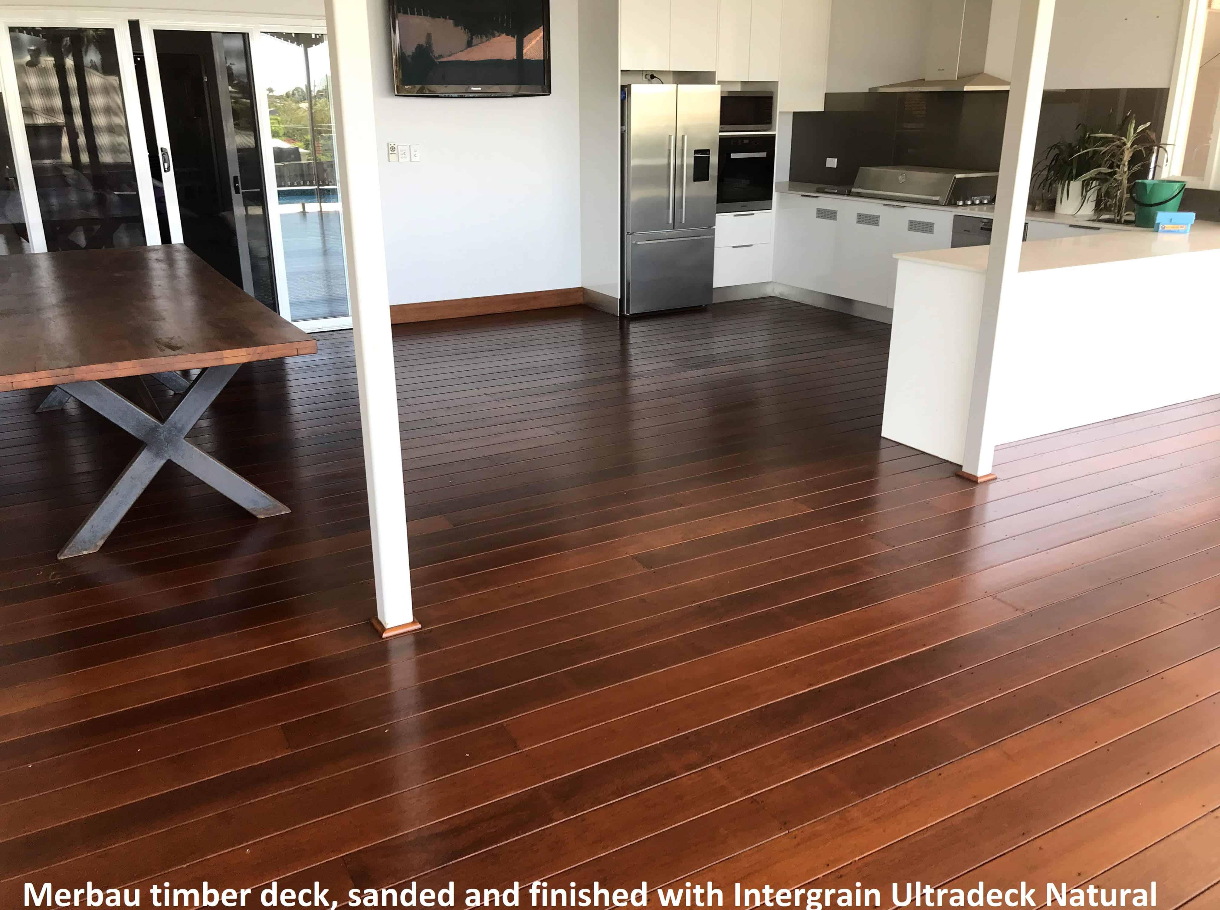 Deck Sanding & Coating