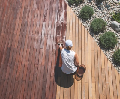 Decking Oil Drying Time